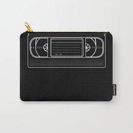 Retro VHS Video Cassette Tape TV Vintage design Carry-All Pouch