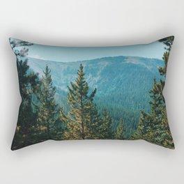 let's mountain adventure/ jasper, canada Rectangular Pillow