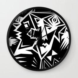 One Crazy Night Wall Clock