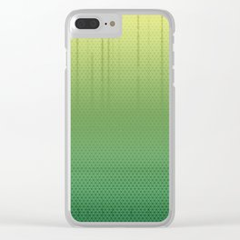Sombra Skin Cidro Pattern Clear iPhone Case