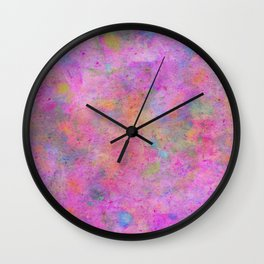 Colour Splash G272 Wall Clock