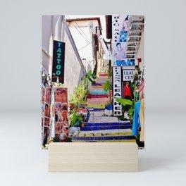 Colorful Stairs Mini Art Print
