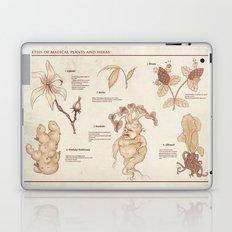 Herbology Reference Chart (Hogwarts) Laptop & iPad Skin