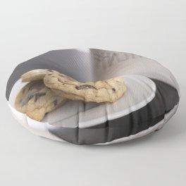 Life is short, eat cookies! Floor Pillow