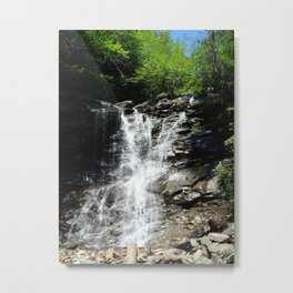 Waterfall, Glen Onoko Metal Print