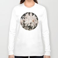 antique Long Sleeve T-shirts featuring Antique Magnolias by A Wandering Soul