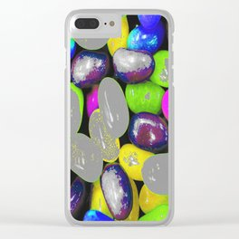 Color bomb Clear iPhone Case