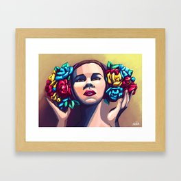 Bouquets Framed Art Print