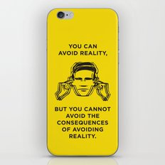 Avoiding reality iPhone & iPod Skin
