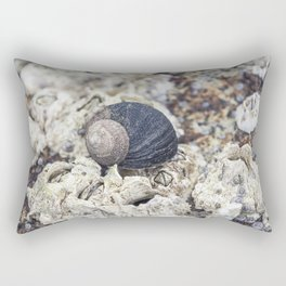periwinkle close up Rectangular Pillow