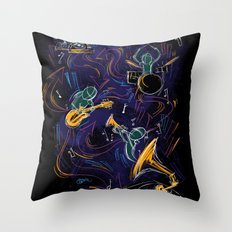 Two Turntables and a Gramophone  Throw Pillow
