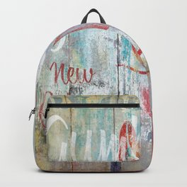 New Orleans Gumbo Sign Backpack