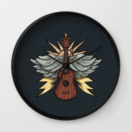 Blues Wall Clock