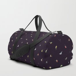 Garden Birds by Night (Fine) Duffle Bag