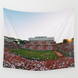 Wolfpack Football Wall Tapestry