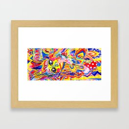 HEA Framed Art Print