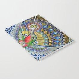 Hummingbird & Cactus - Beija Flor III Notebook