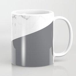 White Marble Pale Grey Coffee Mug