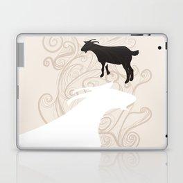 Farm Poster #1 -Goats Laptop & iPad Skin