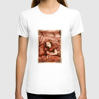 hamlet T-shirts featuring Romantic Ophelia - Hamlet - Shakespeare Illustration by Immortal Longings