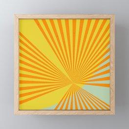 Summer Sun Framed Mini Art Print