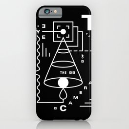 The Harsh Truth Of The Camera Eye iPhone Case