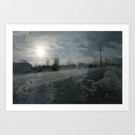 Incredibly Icy Art Print