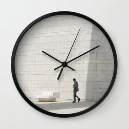 Champalimaud Foundation gigantism tube Wall Clock