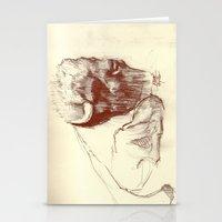 buffalo Stationery Cards featuring Buffalo by Smog