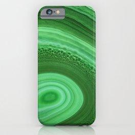 Green Agate iPhone Case