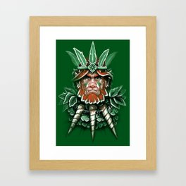 Wild Leprechan Framed Art Print