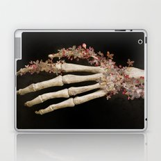 """Spring 1"" skull and flowers Laptop & iPad Skin"