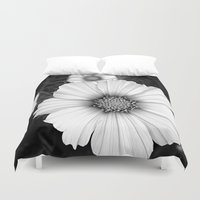 cosmos Duvet Covers featuring cosmos by lalula