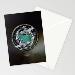 """Astrological Mechanism - Pisces"" Stationery Cards"