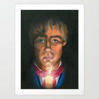 les miserables Art Prints featuring Les Miserables  by Allison Gossett