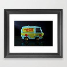 The Mystery Machine Framed Art Print
