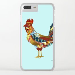 2017 - Year of the Rooster Clear iPhone Case