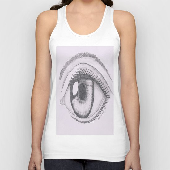 Keep your eyes open and see.... Unisex Tank Top