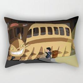 Wrong Bus Rectangular Pillow