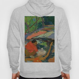 "Paul Gauguin ""Te Poipoi (Le matin - The morning)"" Hoody"