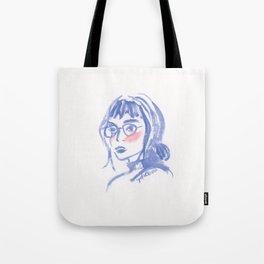 A Geek Girl Tote Bag