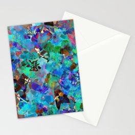 Hawaiian Jungle Batik Stationery Cards