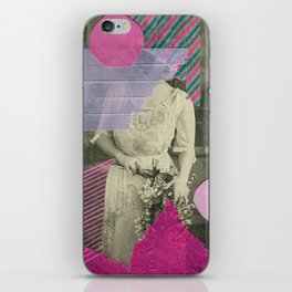 Cyclamen Girl iPhone Skin