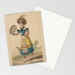 Noblet Lise  creaCostume de Melle Noblet role dEdile en Bohemienne dans Astolphe et Joconde ballet pantomime Academie royale de musiqueAdditional Astolphe et Jo Stationery Cards