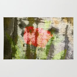 Structured Tulips Rug