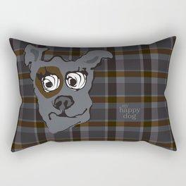 Bandit GRAY Rectangular Pillow