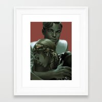 the great gatsby Framed Art Prints featuring Gatsby by Skyfisher