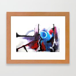 Saturday Nap Framed Art Print