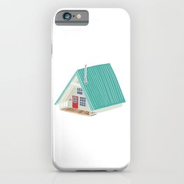 Little A Frame Cabin iPhone Case