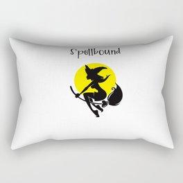 Spellbound witch Rectangular Pillow